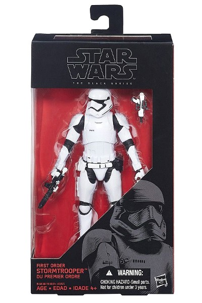 Hasbro Star Wars Black First Order Stormtrooper 6 Inch Figure